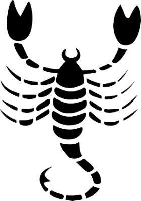 escorpio negro